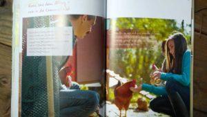 Unsere ersten Hühner Innenansicht